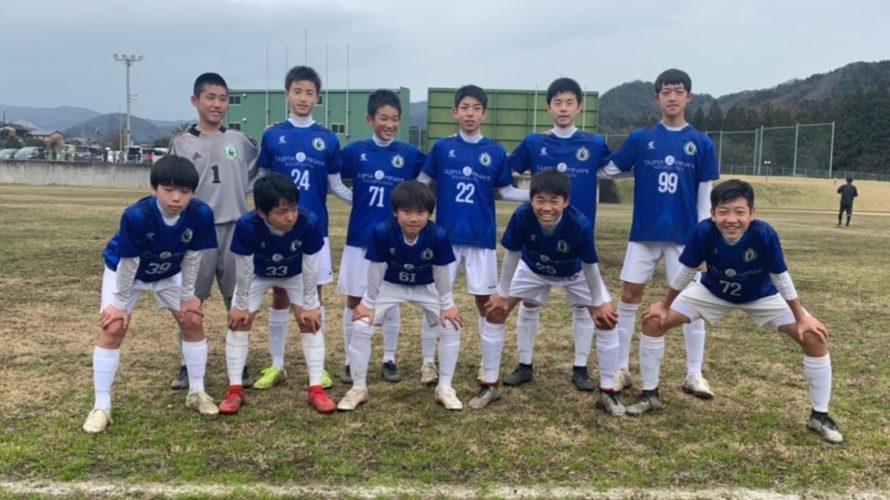 但馬リーグU-14後期 vs 豊岡南中
