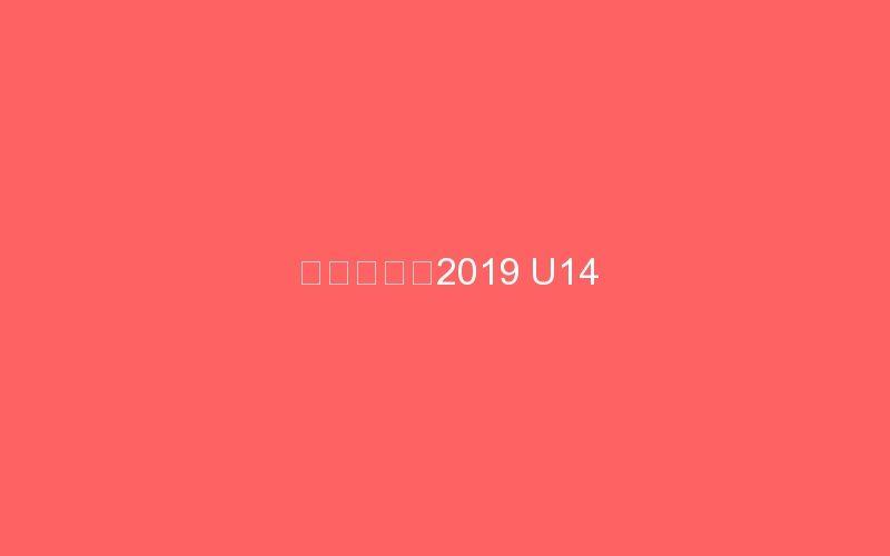 網野カップ2019 U14