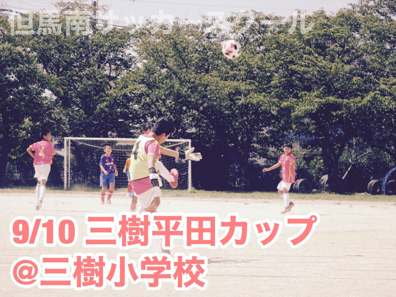 三樹平田カップU12