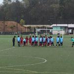 エベイユFC交流戦U14