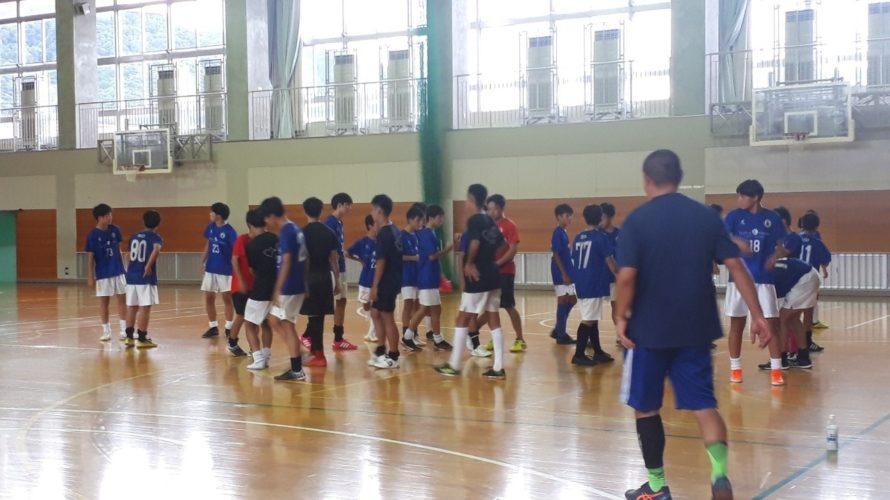 フットサル練習&OBトレーニングマッチ